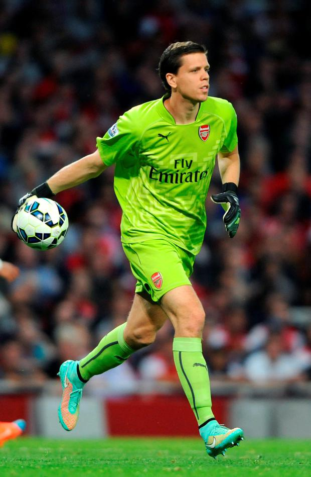 Arsenal keeper Wojciech Szczesny set for Roma loan after Cech arrival