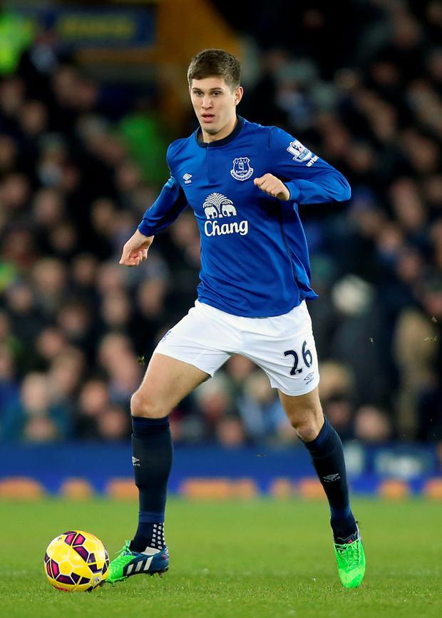 Everton's John Stones is a transfer target for Chelsea