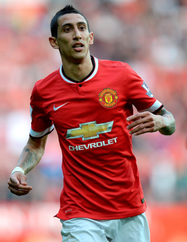 Angel di Maria is set to swap Manchester United for Paris St Germain after only one season at Old Trafford