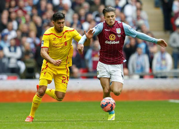 Emre Can, left