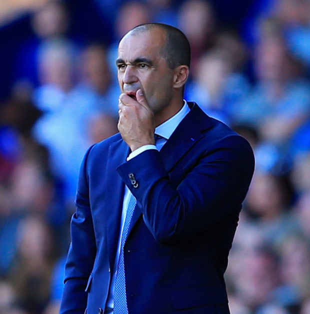 Everton manager Roberto Martinez achieved very little by assessing his players on live television.