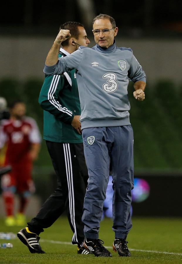 Ireland manager Martin O'Neill now has a fighting chance to qualify for Euro 2016 in France