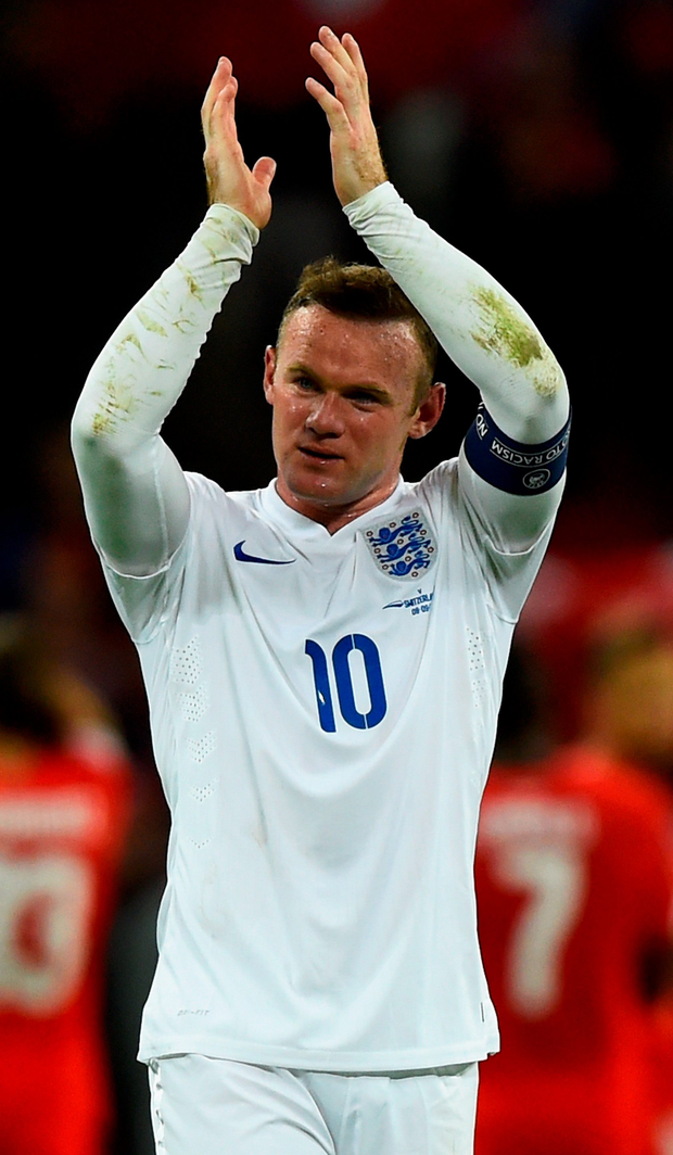 Is Wayne Rooney demanding more of himself in the way that Bobby Charlton did and Ireland captain Robbie Keane still does?