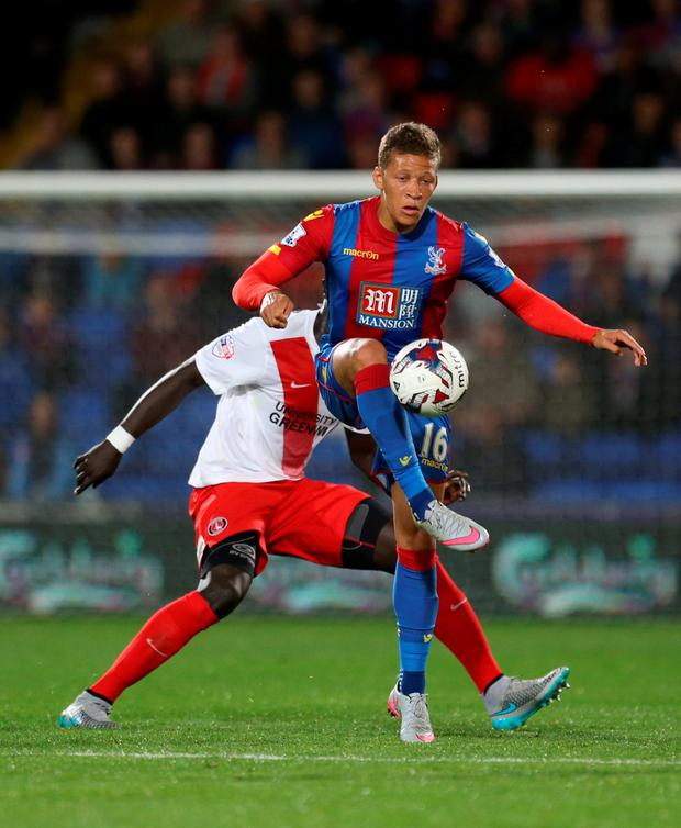 The 24-year-old forward was a target for both Norwich and Bristol City in the transfer window but remained at Selhurst Park