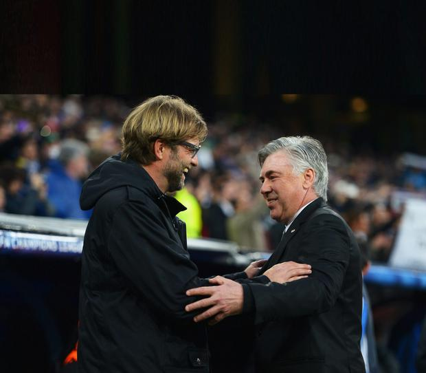 Jurgen Klopp and Carlo Ancelotti are the two frontrunners for the Liverpool job.