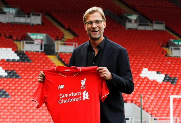 Liverpool's new manager Jurgen Klopp