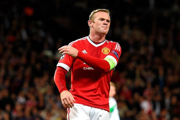 United skipper Wayne Rooney