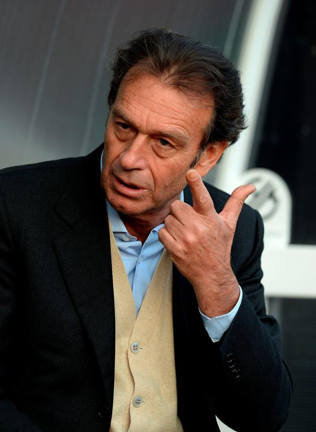 Soccer - Massimo Cellino File photo...File photo dated 08-04-2014 of Massimo Cellino. PRESS ASSOCIATION Photo. Issue date: Thursday May 7, 2015. Leeds president Massimo Cellino said he cannot guarantee head coach Neil Redfearn will remain in his role next season. See PA story SOCCER Leeds. Photo credit should read Tony Marshall/PA Wire....S