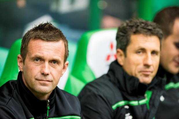 Celtic manager Ronnie Deila