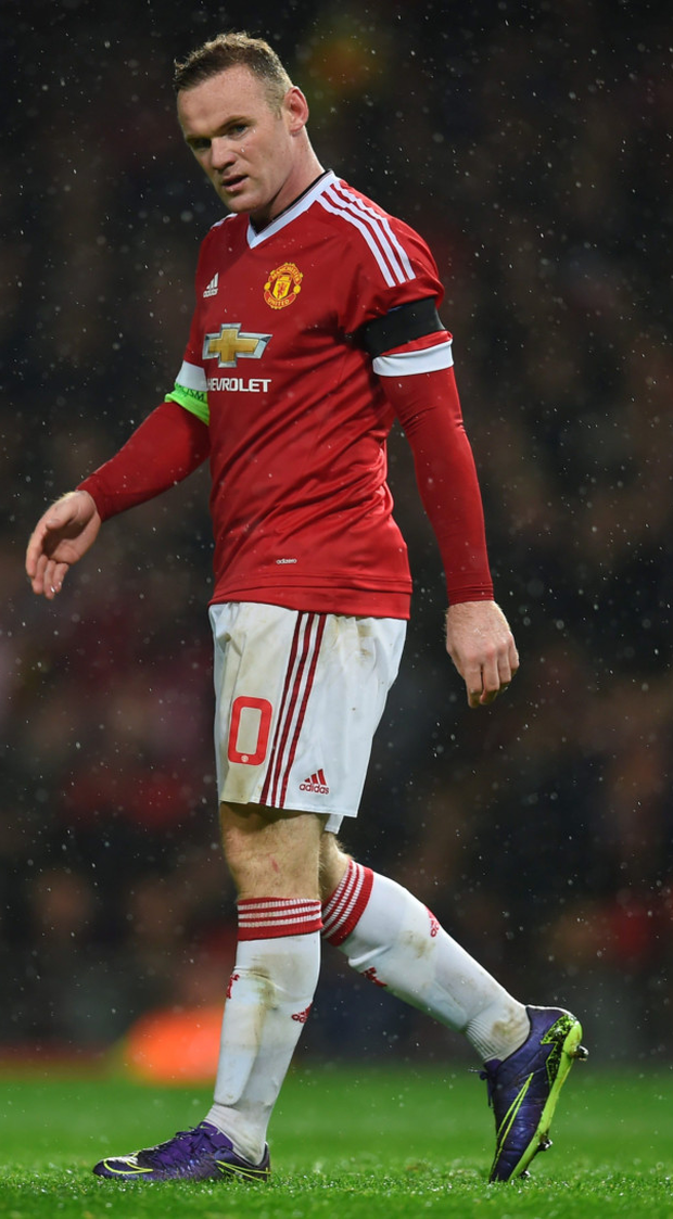 Manchester United captain Wayne Rooney has scored only two goals in ten Premier League games so far