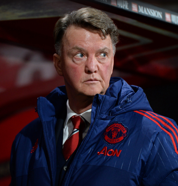 Louis van Gaal is feeling the pressure Photo: Reuters