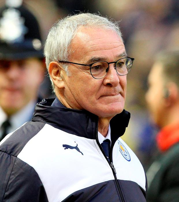 Leicester City's Italian manager Claudio Ranieri Photo:Getty