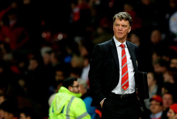 Manchester United manager Louis van Gaal insists 2015 was a success, despite the club's struggles last month Photo:PA