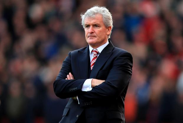Stoke manager Mark Hughes wants to make home advantage count in tonight's League Cup semi-final first leg clash with Liverpool