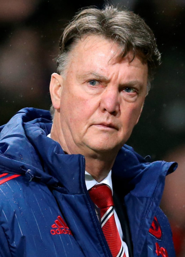 Manchester United manager Louis van Gaal faces further scrutiny in tonight's Premier League clash at Newcastle Photo: PA