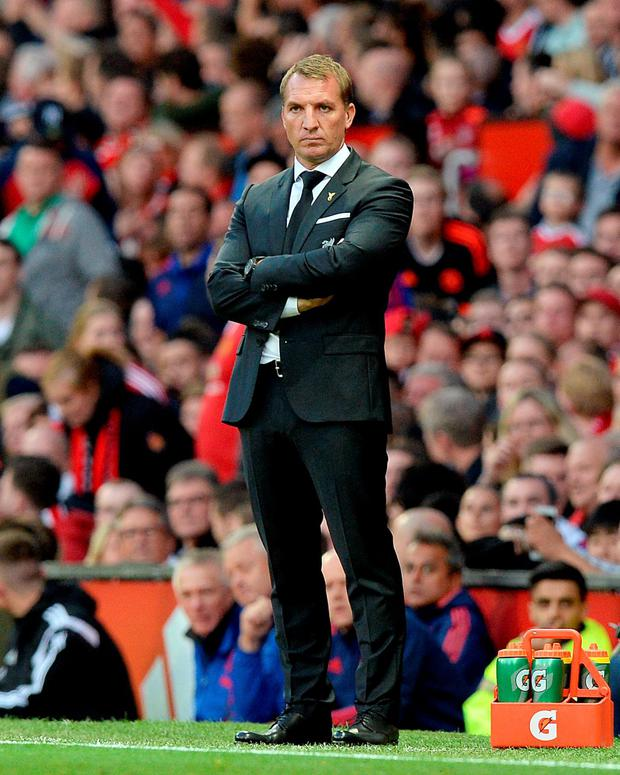 Former Liverpool manager Brendan Rodgers.
