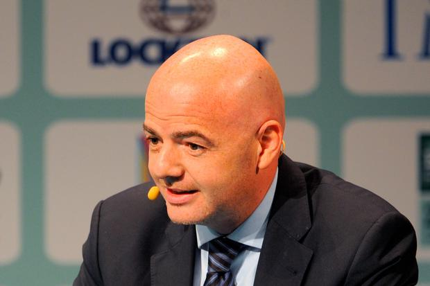 FIFA presidential candidate Infantino
