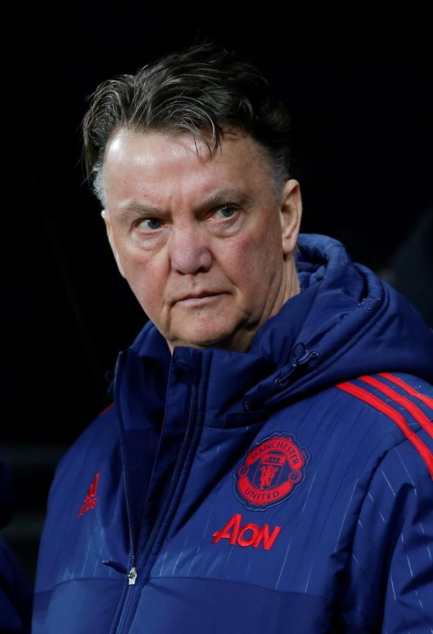 Louis van Gaal insists he'll see out the remainder of his contract at Old Trafford Photo: Reuters
