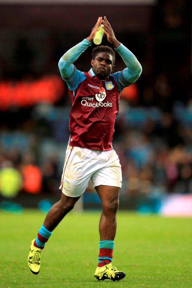 Micah Richards Photo:PA