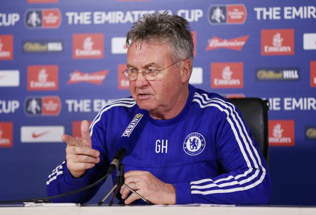 Guus Hiddink does not view the Pato move as a gamble since it is a loan deal Photo: Reuters