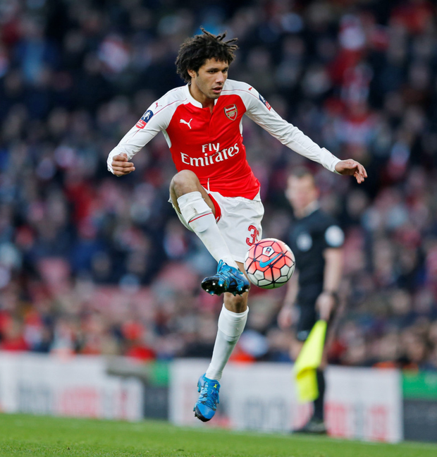 Mohamed Elneny Photo: Reuters