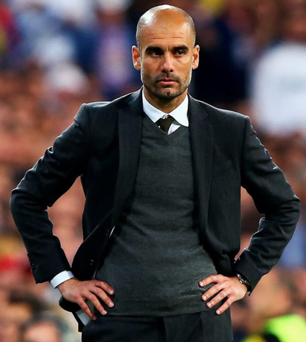 Pep Guardiola's rumoured move to Manchester City was finally confirmed yesterday. Photo: Getty