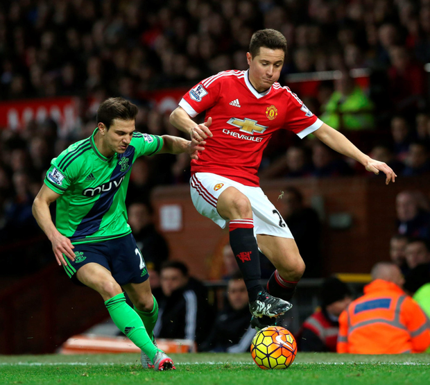 Ander Herrera in action