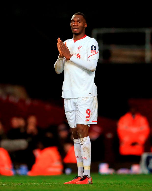 Liverpool's Christian Benteke Photo: PA