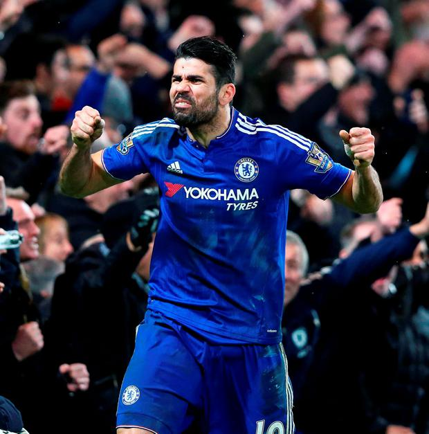 Chelsea's Diego Costa Photo: PA