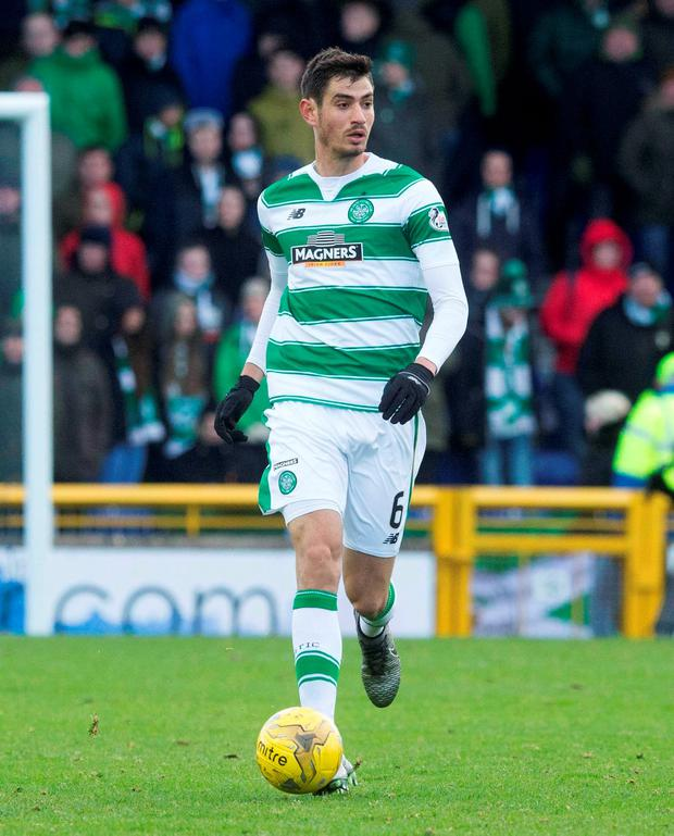 Celtic's Nir Bitton Photo: PA