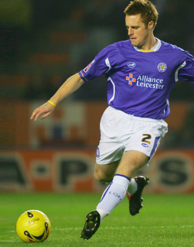 Former Ireland international Alan Maybury, pictured in action for Leicester City back in 2005.
