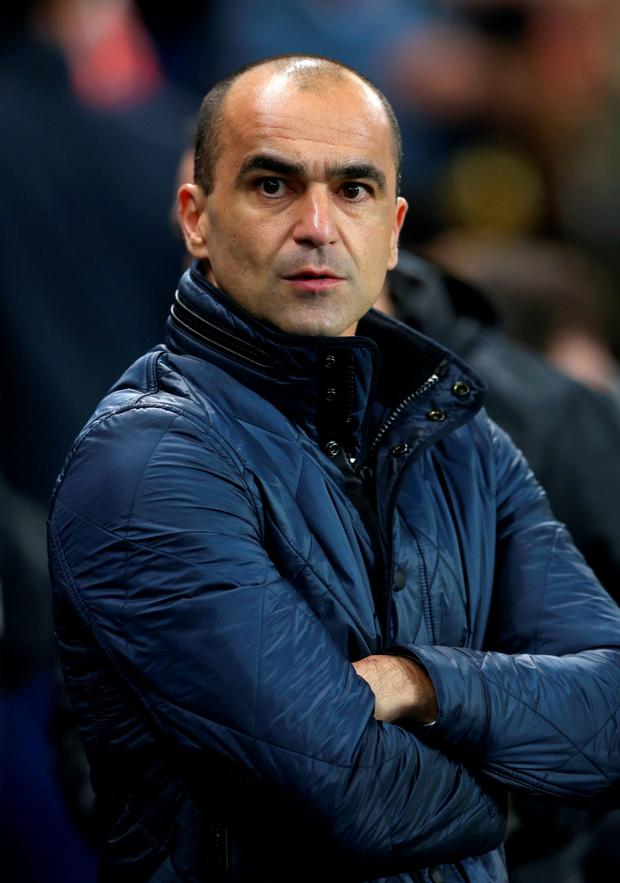 Roberto Martinez Photo: PA