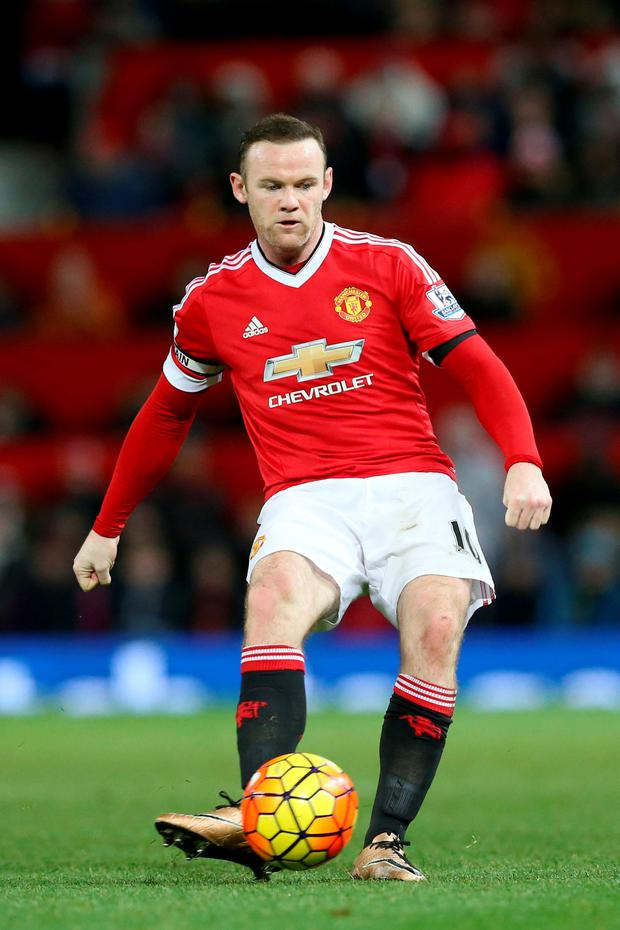 Wayne Rooney Photo: PA