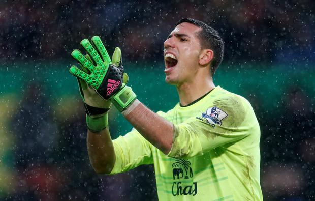 Joel Robles. Photo: Reuters