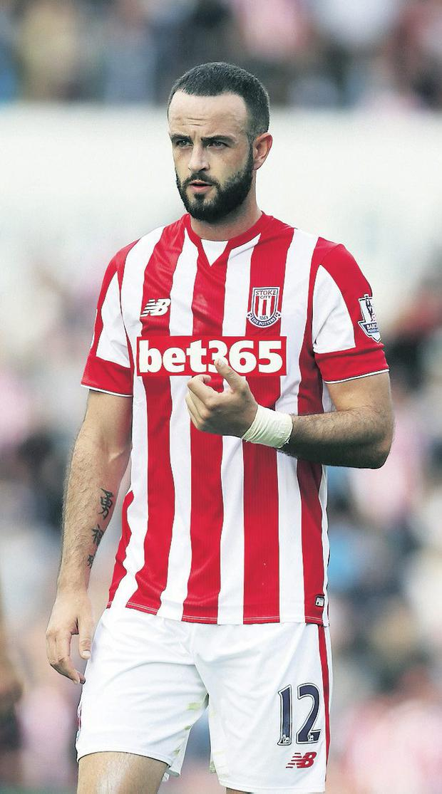 Marc Wilson in action for Stoke City: Clint Hughes/Getty Images