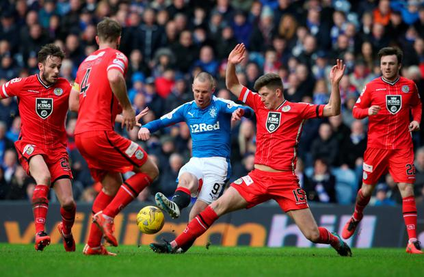 Rangers' Kenny Miller Photo: PA