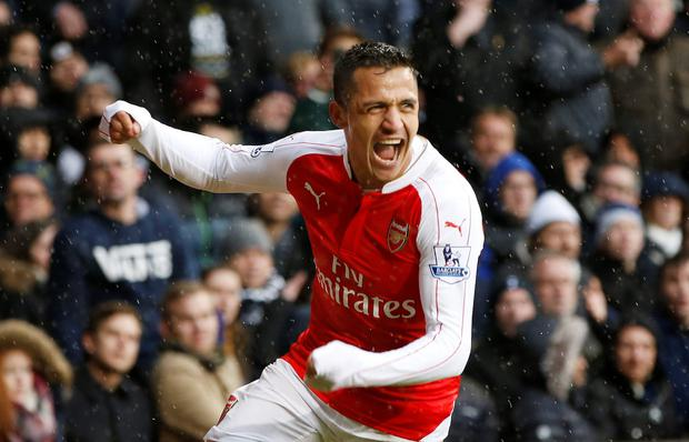 Alexis Sanchez. Photo: Reuters