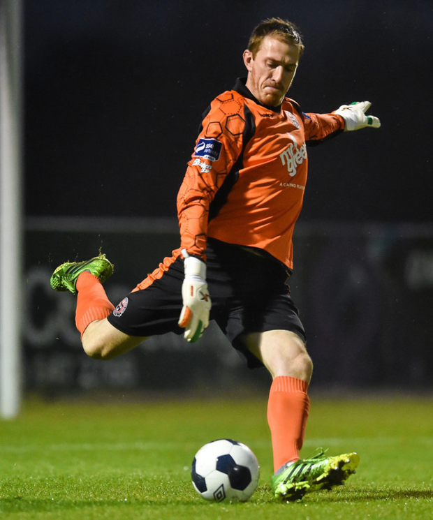 Bohemians keeper Dean Delany is relishing tonight's Premier Division clash with Dublin rivals St Patrick's Athletic at Richmond Park, Inchicore Photo: Sportsfile