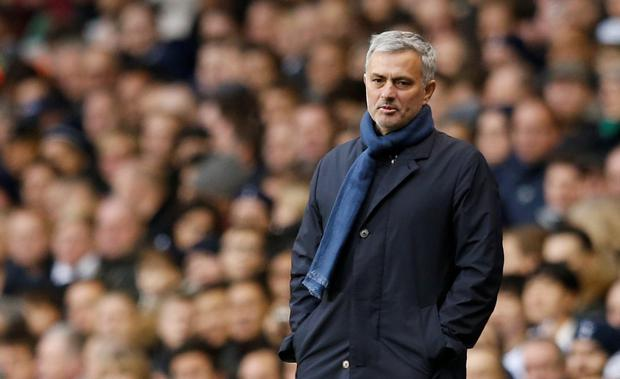 'The Portuguese has been out of work since his sacking by Chelsea in December' Photo: Reuters
