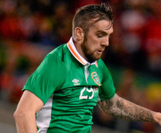 Shane Duffy made an immediate impact during the friendly last night