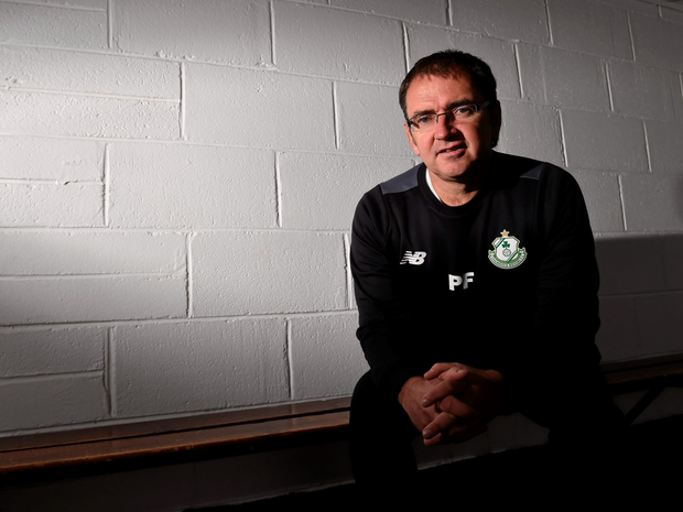 Rovers boss Pat Fenlon. Photo: Sportsfile