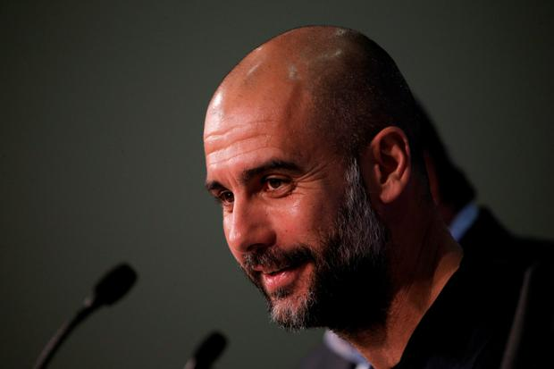 Pep Guardiola. Photo: Getty