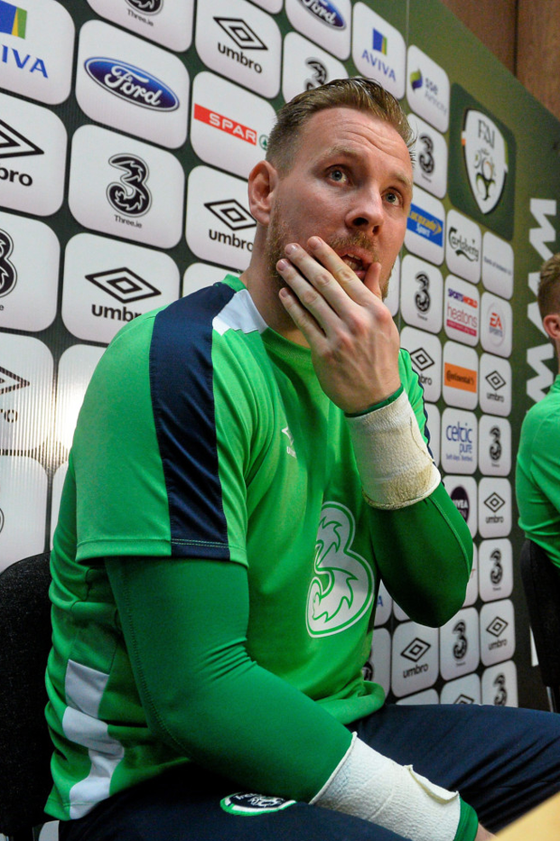 On the mend: Rob Elliot Photo: Sportsfile