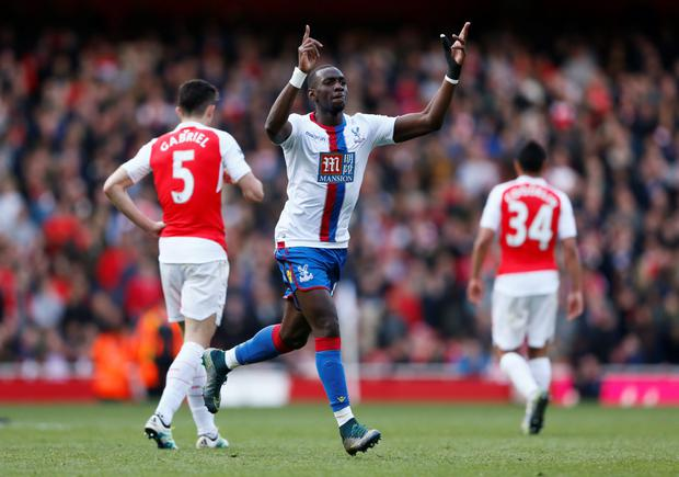 Yannick Bolasie. Photo: Reuters