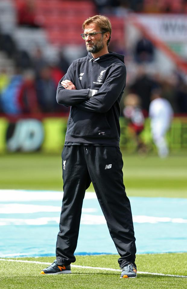 Jurgen Klopp. Photo: Reuters