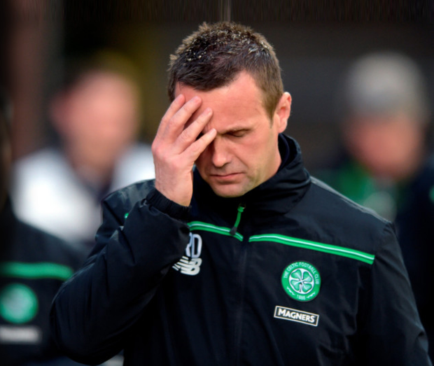 Ronny Deila will step down as Celtic manager at the end of the season Photo: PA