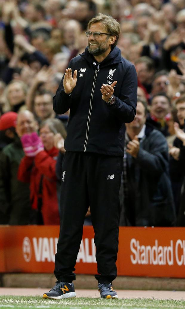 'Klopp does not yet think he has found the magic formula' Photo: Reuters
