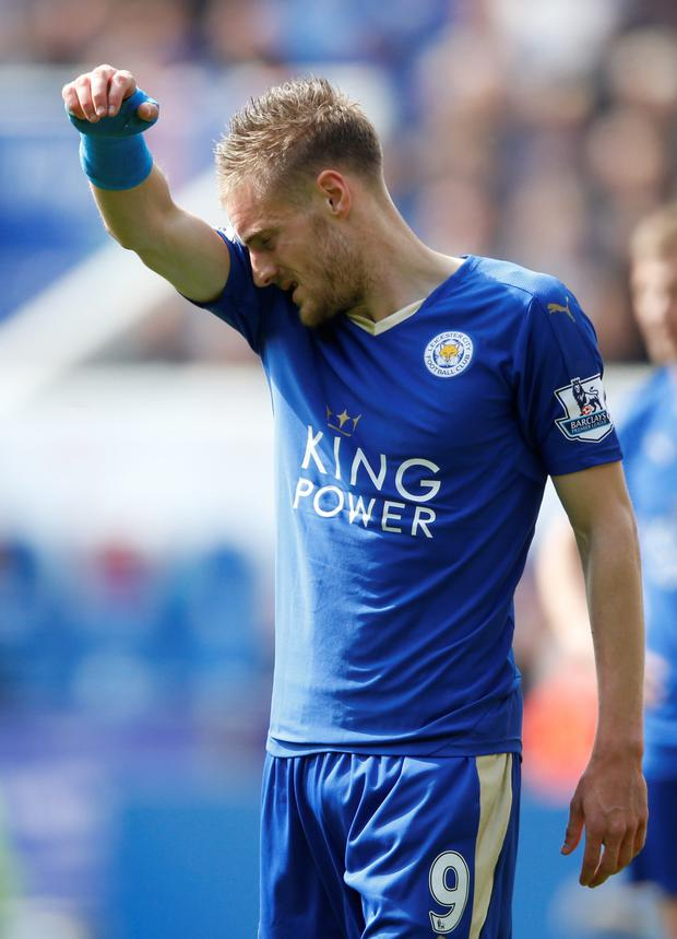 Jamie Vardy Photo: Reuters