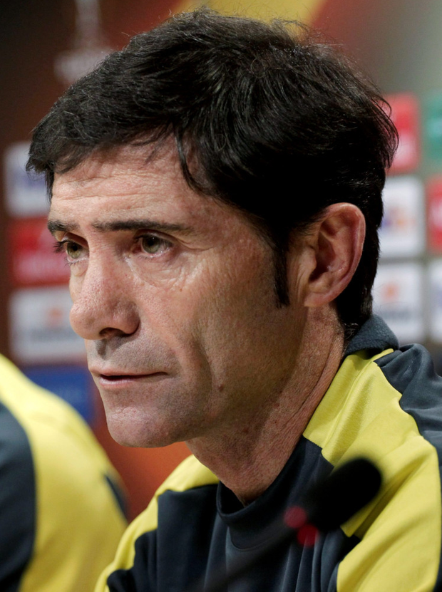 Villarreal's Marcelino Garcia Photo: Reuters