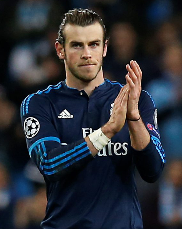 Real Madrid's Gareth Bale Photo: PA